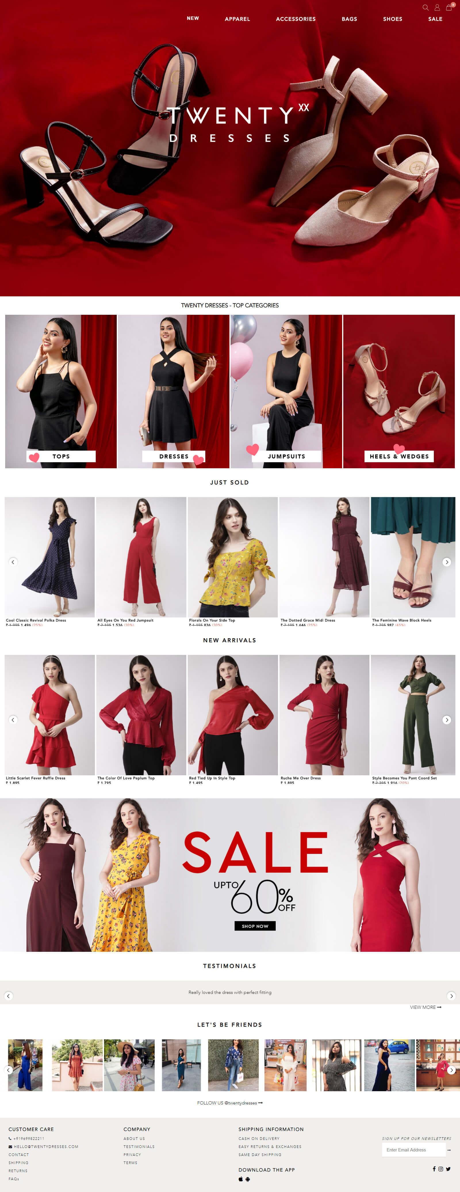 Twenty Dresses