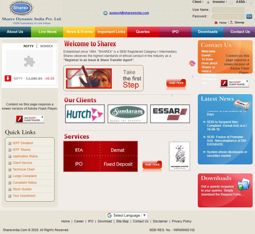Sharex India